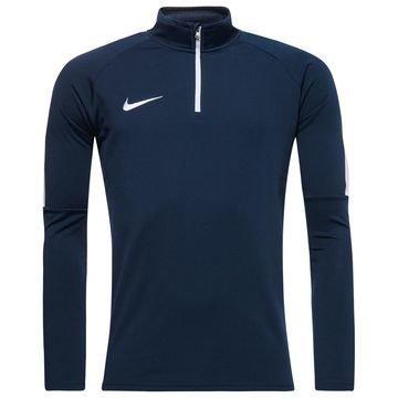 Nike Harjoituspaita Midlayer Drill Top Academy Navy/Valkoinen
