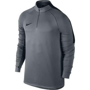 Nike Harjoituspaita Midlayer Drill Top Harmaa/Musta