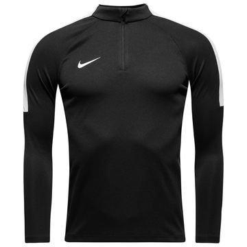 Nike Harjoituspaita Midlayer Drill Top Musta/Valkoinen Lapset