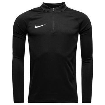 Nike Harjoituspaita Midlayer Drill Top Musta/Valkoinen