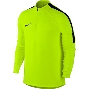Nike Harjoituspaita Midlayer Drill Top Neon/Musta
