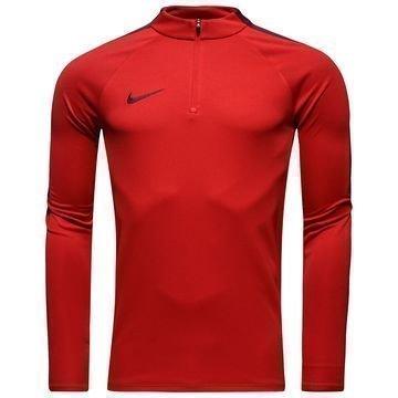Nike Harjoituspaita Midlayer Drill Top Punainen/Viininpunainen