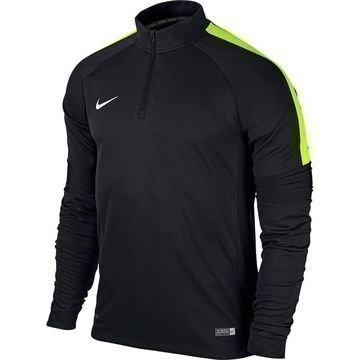 Nike Harjoituspaita Midlayer Squad Ignite L/S Musta/Volt Lapset