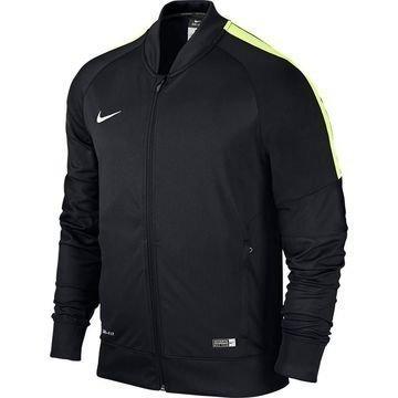 Nike Harjoitustakki Squad Sideline Knit Musta/Volt/Valkoinen Lapset