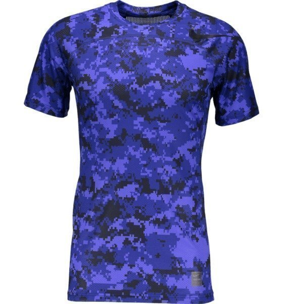 Nike Hprcl Ft Camo Ss Tekninen Pusero