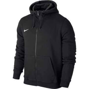 Nike Huppari Team Club FZ Musta