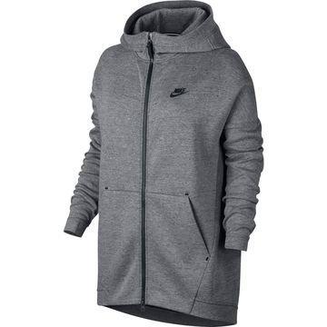 Nike Huppari Tech Fleece Cape Harmaa Naiset