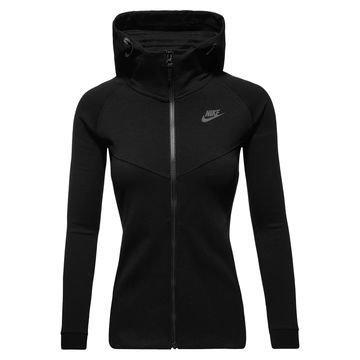 Nike Huppari Tech Fleece FZ Musta Naiset
