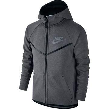 Nike Huppari Tech Fleece Harmaa/Musta Lapset