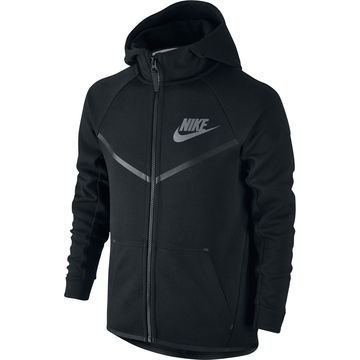 Nike Huppari Tech Fleece Musta Lapset