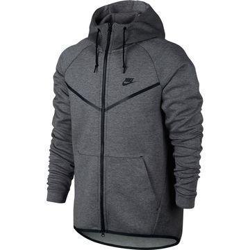 Nike Huppari Tech Fleece Windrunner AOP Harmaa/Musta