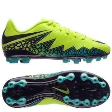 Nike Hypervenom Phelon II AG Neon/Musta/Turkoosi Lapset