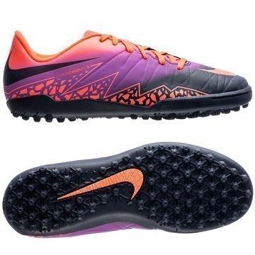 Nike Hypervenom Phelon II TF Floodlights Pack Oranssi/Navy/Violetti Lapset