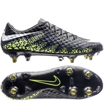 Nike Hypervenom Phinish SG-PRO Anti-Clog Dark Lightning Pack Musta/Valkoinen/Neon/Sininen