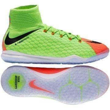 Nike HypervenomX Proximo 2 DF IC Radiation Flare Vihreä/Musta/Oranssi Lapset