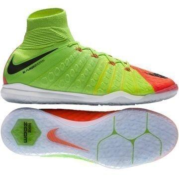 Nike HypervenomX Proximo 2 DF IC Radiation Flare Vihreä/Musta/Oranssi