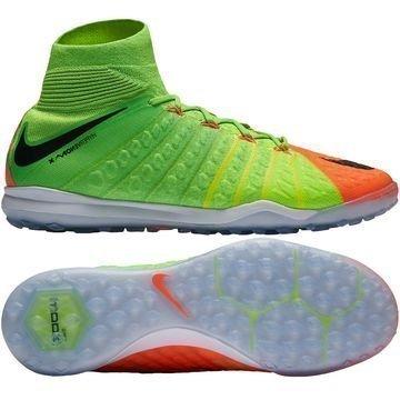 Nike HypervenomX Proximo 2 DF TF Radiation Flare Vihreä/Musta/Oranssi