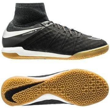 Nike HypervenomX Proximo Nahka IC Tech Craft Pack 2.0 Musta/Hopea
