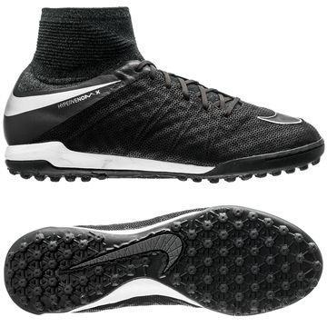 Nike HypervenomX Proximo Nahka TF Tech Craft Pack 2.0 Musta/Hopea