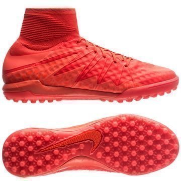 Nike HypervenomX Proximo TF Floodlights Glow Pack Punainen