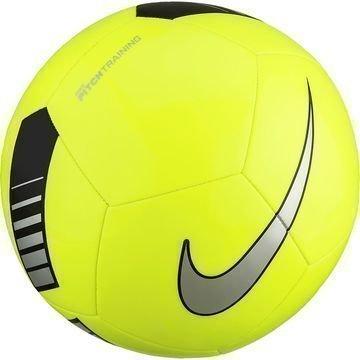 Nike Jalkapallo Pitch Training Neon/Musta/Hopea