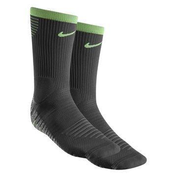 Nike Jalkapallosukat NikeGRIP Lightweight Crew Harmaa/Vihreä