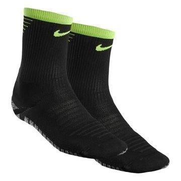 Nike Jalkapallosukat NikeGRIP Lightweight Crew Musta/Neon