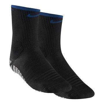 Nike Jalkapallosukat NikeGRIP Lightweight Crew Musta/Sininen