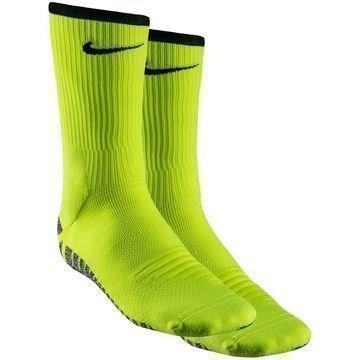 Nike Jalkapallosukat NikeGRIP Lightweight Crew Neon/Musta