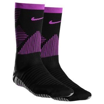 Nike Jalkapallosukat Strike Mercurial Crew Musta/Violetti