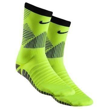 Nike Jalkapallosukat Strike Mercurial Crew Neon/Musta