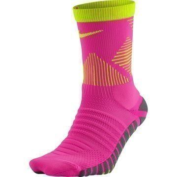 Nike Jalkapallosukat Strike Mercurial Crew Pinkki/Neon