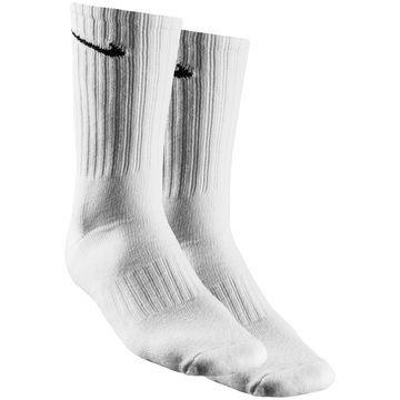 Nike Jalkapallosukat Value Cotton Crew 3-Pack Valkoinen