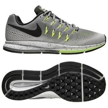 Nike Juoksukengät Air Zoom Pegagus 33 Shield Harmaa/Musta/Neon Naiset