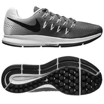 Nike Juoksukengät Air Zoom Pegasus 33 Harmaa/Musta/Valkoinen Naiset