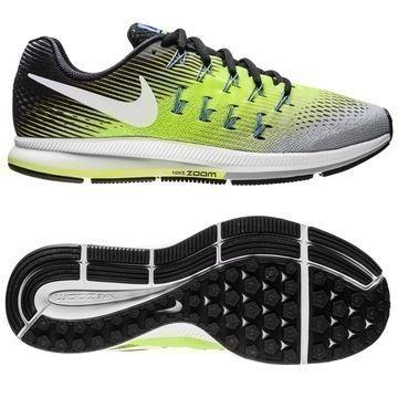 Nike Juoksukengät Air Zoom Pegasus 33 Hopea/Valkoinen/Neon
