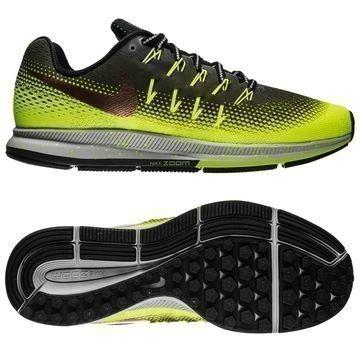 Nike Juoksukengät Air Zoom Pegasus 33 Shield Vihreä/Pronssi/Neon