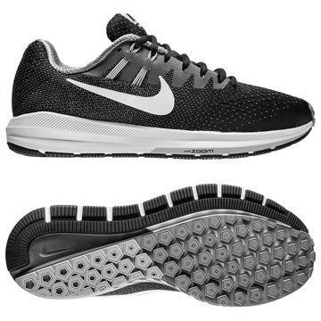 Nike Juoksukengät Air Zoom Structure 20 Musta/Valkoinen/Harmaa Naiset