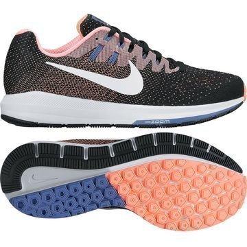 Nike Juoksukengät Air Zoom Structure 20 Musta/Valkoinen/Oranssi Naiset