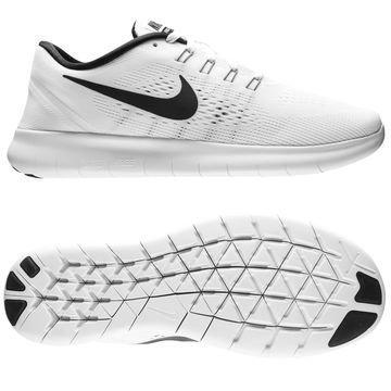 Nike Juoksukengät Free RN Valkoinen/Musta Naiset