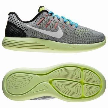 Nike Juoksukengät LunarGlide 8 Harmaa/Valkoinen/Neon