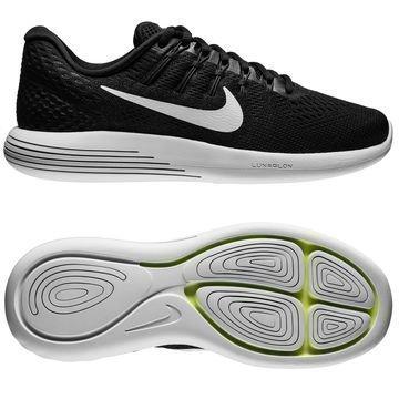 Nike Juoksukengät LunarGlide 8 Musta/Valkoinen
