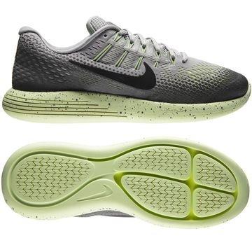 Nike Juoksukengät LunarGlide 8 Shield Harmaa/Musta/Neon Naiset