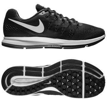 Nike Juoksukenkä Air Zoom Pegasus 33 Musta/Valkoinen