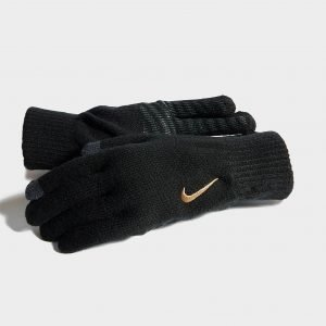 Nike Knit Tech And Grip Gloves Musta