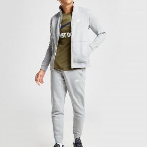 Nike League Fleece Tracksuit Harmaa