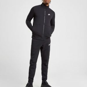 Nike League Fleece Tracksuit Musta