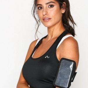 Nike Lean Arm Band Käsivarsikotelo Musta / Hopea