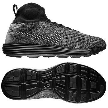 Nike Lunar Magista II Flyknit FC Musta/Valkoinen