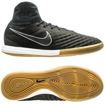 Nike MagistaX Proximo II Nahka IC Tech Craft Pack 2.0 Musta/Hopea